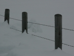 Fence with Snow, Teton Valley, Idaho