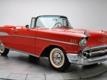 1957 Red Chevrolet Belair F