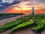 New Brighton Lighthouse,UK