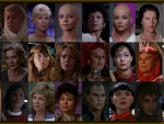 The Women of the First Six Star Trek Movies Version Two