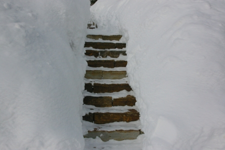 Steps in Teton Village, Wyoming - Recreation, Hot Tubs, Vacation, Skiing, Scenic