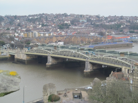 Rochester Road & Rail Bridges - Rivers, Crossings, Architecture, Bridges, History