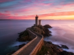 Finistere Lighthouse, Brittany, France