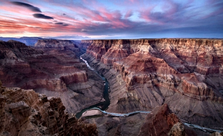 The Grand Canyon - Grand Canyon, photography, scenery, landscape, Arizona, photo, nature, wide screen, beautiful, USA, National Park