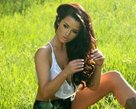 Abigail Ratchford - Jeans Wallpapers and Images - Desktop ...