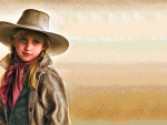 Portrait Of A Cowgirl..
