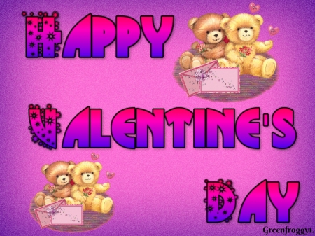 HAPPY VALENTINES DAY - DAY, COMMENT, VALENTINES, HAPPY, CARD