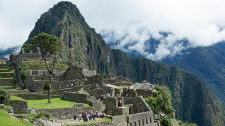 Machu Picchu - old, South American, ancient, Machu Picchu, architecture
