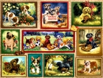 Puppy Card Collage