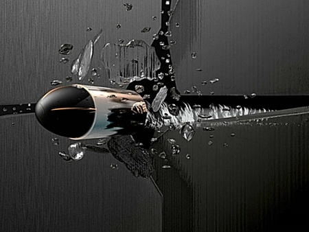 Silver bullet 3d and cg abstract background wallpapers for Silver 3d wallpaper