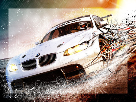 need for speed shift boom! bmw! - shift, car, need for speed, nfs, game, bmw