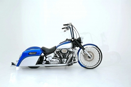 2007 Yamaha Road Star - 07, White, Blue, Chrome