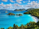 Coast of the Virgin Islands,USA