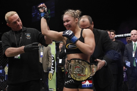 Ronda Rousey - mixed martial artist, model, lady, woman, Ronda Jean Rousey, judoka, babe, American, blonde