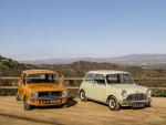 1971-Mini-1275-GT-and-1964-Autin-Mini-Cooper-S