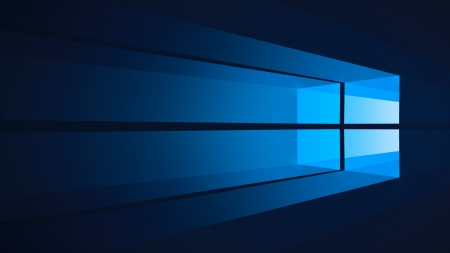 Flat Windows 10 - Flat, Blue, Windows 10, Windows, Dark Blue