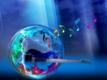 Guitar in a Bubble