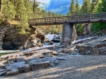 Bridge over MacDonald Creek, Montana