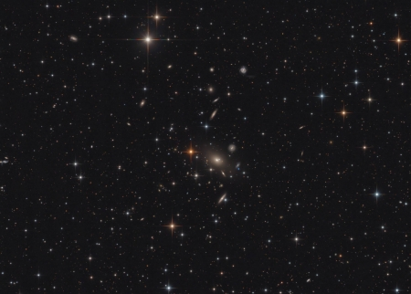 Galaxy Cluster Abell 2666 - space, cool, stars, galaxies, fun