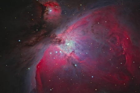 At the Heart of Orion - space, cool, stars, galaxies, fun