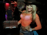 Big Orange Cowgirl!..