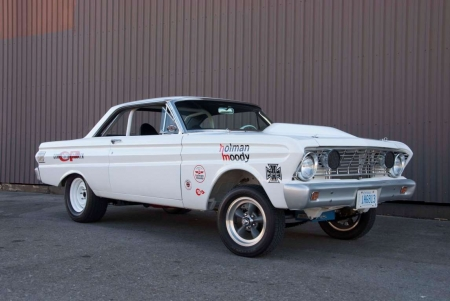 1964 Ford Falcon Street Shaker Prowls the Streets of London, Ontario, Canada - Ford, Muscle, White, Classic