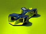 roborace driveless electric car