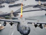 Hercules Over Sydney Harbour