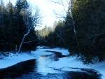 Winter At Crowe River