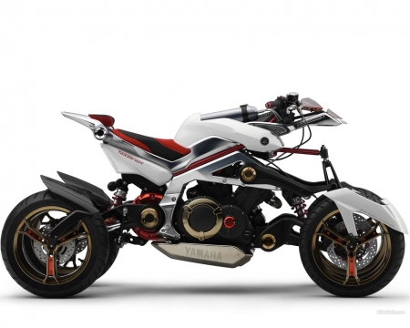 Yamaha Tesseract - concept, motorcycle, motorbike, Tesseract, electric, Yamaha Tesseract, Yamaha, hybrid, vehicle