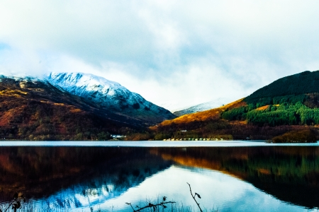 Loch Lomond in Scotland - Reflections, Scotland, Lakes, Nature, Mountains
