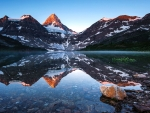 Lake Magog with Mt. Assiniboine, Banff NP