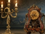 Lumier And Cogsworth