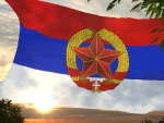 Flag of SPR Serbia