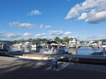 Lake Of Boats - Sky, Boats, Personal Boats, Clouds, Photography, Little Lake
