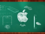 apple chalkboard
