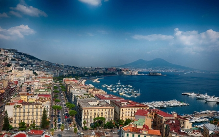 Naples - holiday, naples, sea, italy