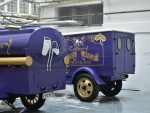 Purple Cadbury Chocolate Trucks