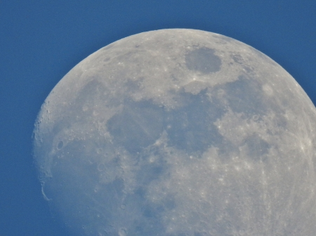 Moon Close Up - Photography, Sky, Moon, Close Up, Space