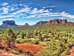 Courthouse Butte and Bell Rock, South Sedona, Arizona