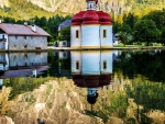 Religious Little Bavarian Chappel Reflection