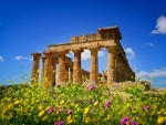 Ancient Hera Temple,Greece