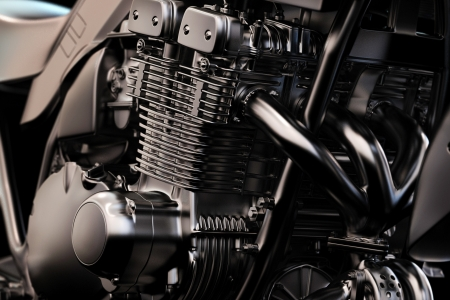 Motorcycle Engine - motorcycle, motorbike, engine, Motorcycle Engine, mechanical