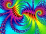Fractal abstract psychedelic