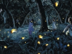 Fireflies hunt
