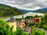 Bacharach Town,Germany
