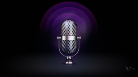 Microphone - Firefox Persona theme, mic, microphone, broadcast, record, radio