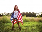 Patriotic Cowgirl