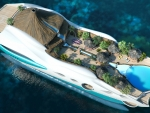 Tropical Island Luxury Yacht