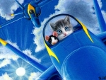 Blue Angel Kitty
